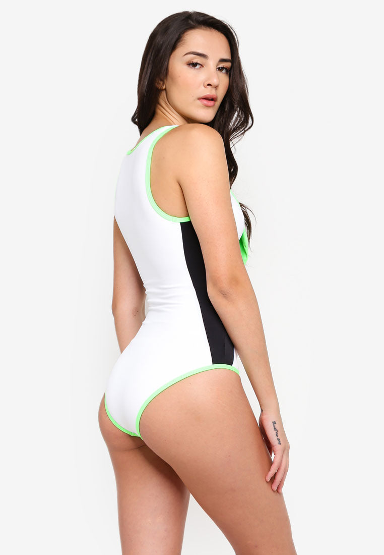 Tessa Tie-Up Swimsuit