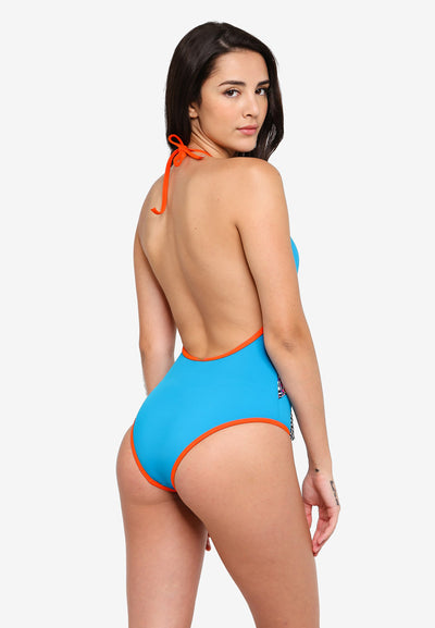 RETRO ACTIVE - Marilyn Scooped Back Halter