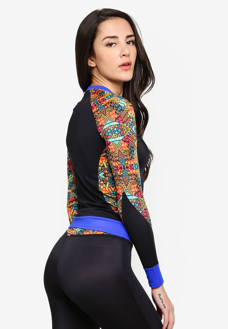 Femme Fierce - Iravani Rash Guard