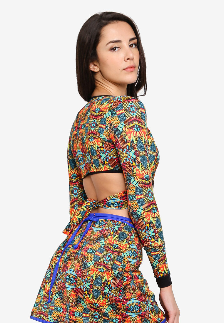 Kehlani Long Sleeve Crop Top