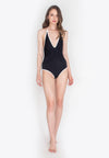 Ether Twist Halter Swimsuit