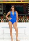 Mexicano - Marcela Lace-Up Swimsuit