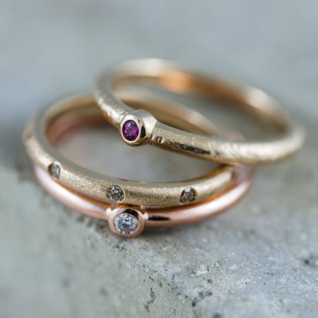 Preview of unique women's wedding bands