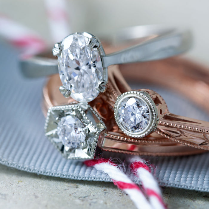 Era Design Unique Diamond Engagement Rings
