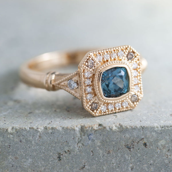 Custom Sapphire Engagement Rings Vancouver