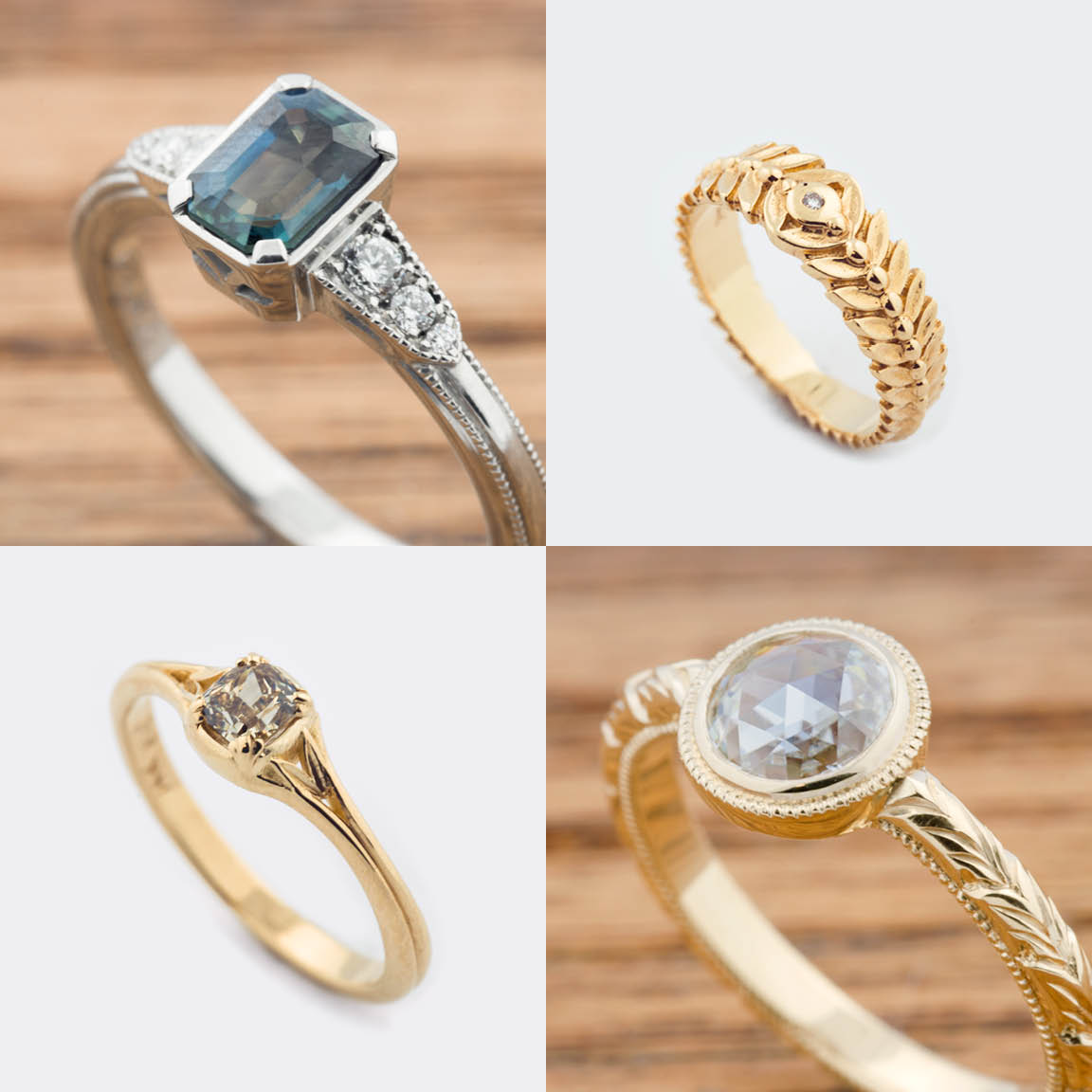 engagement and rings of unusual diamond exotic non unique wedding beautiful