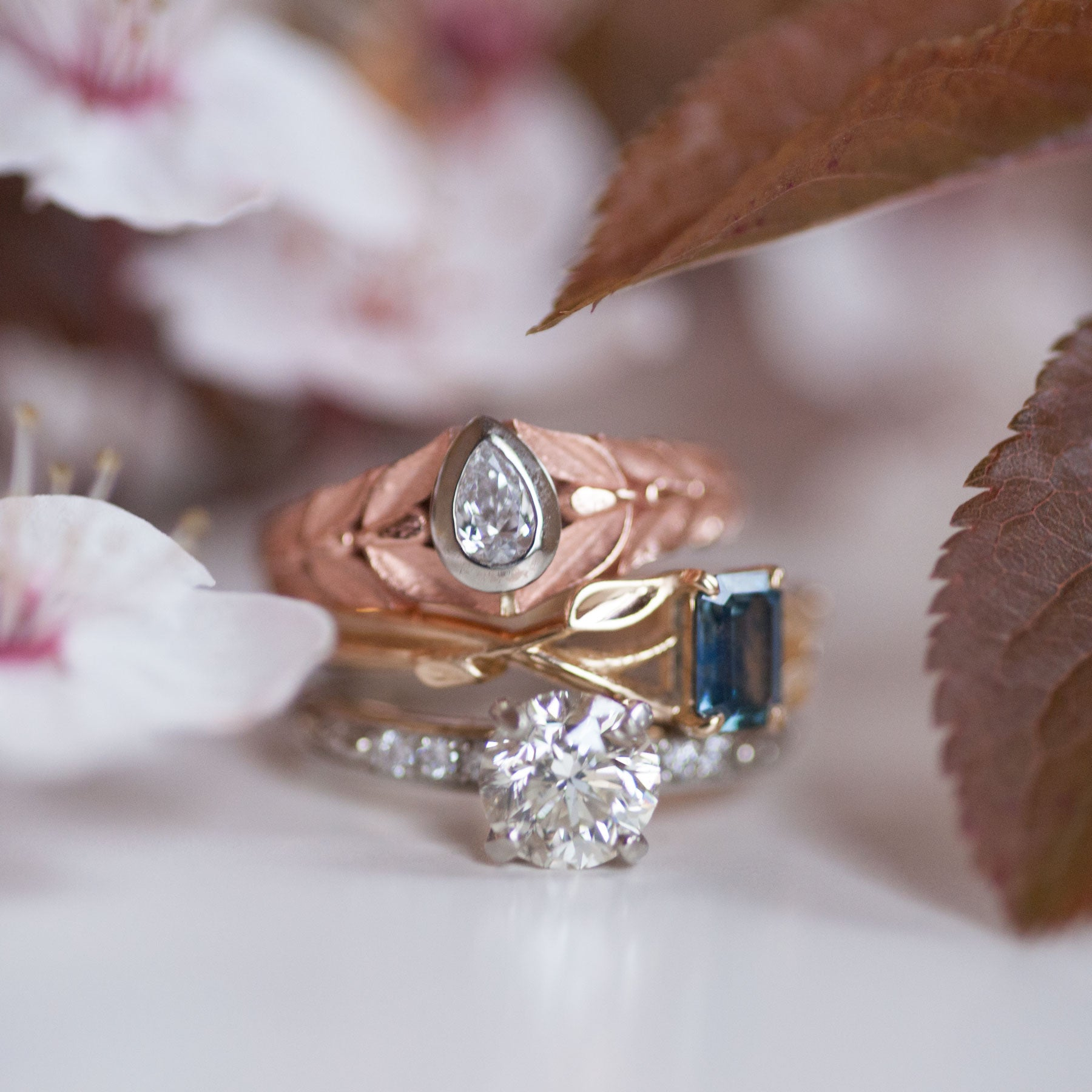 adorable sparkleyyy stone pin rings is just wedding underneath pink little