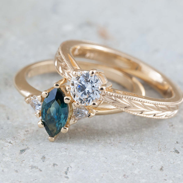 Ethical and unique custom engagement rings