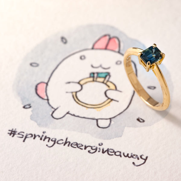 Spring Cheer Giveaway Ring