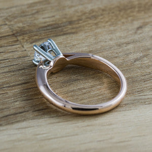Arch | Danish Modern Inspired Engagement ring by Era Design Vancouver | www.eradesign.ca