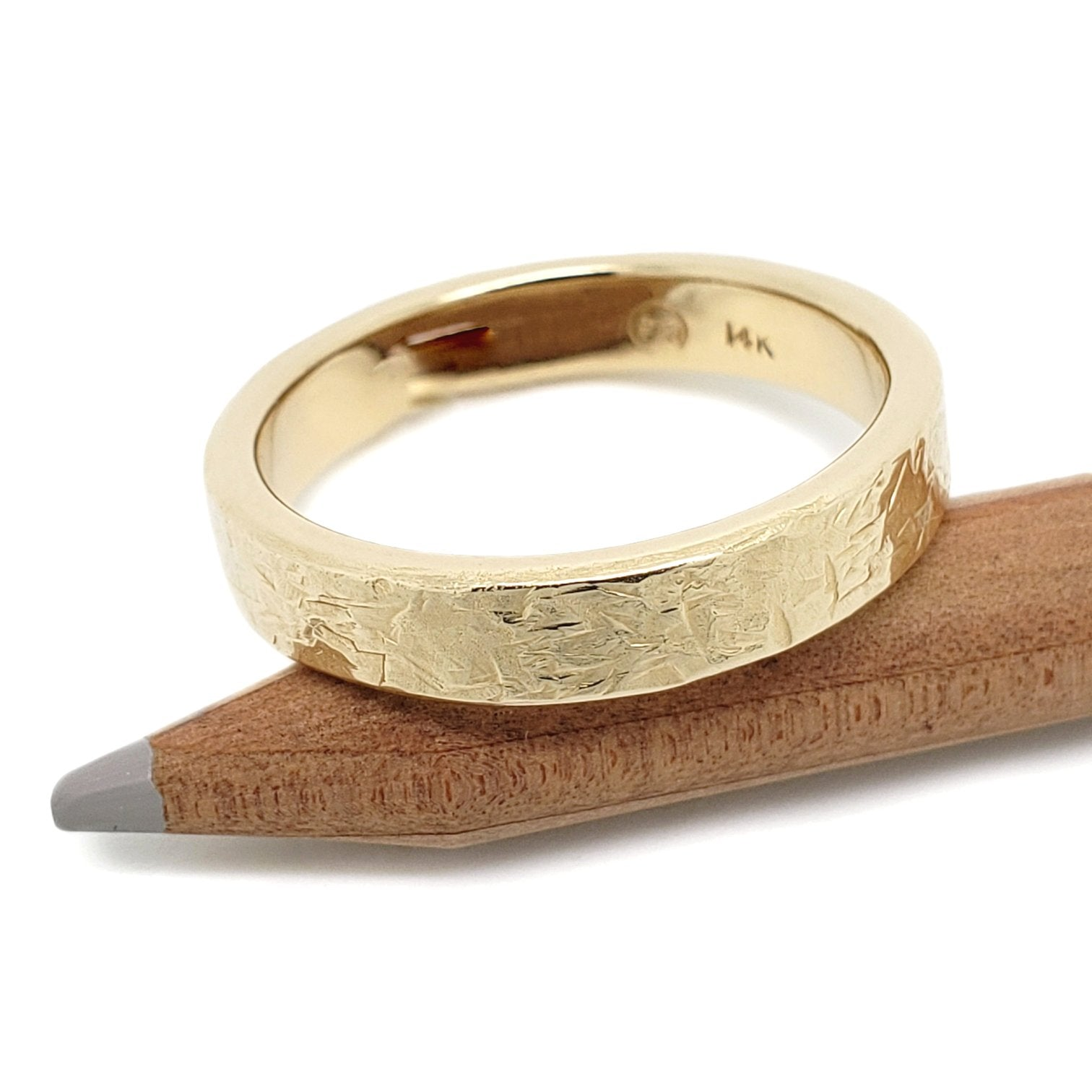 Yellow Gold Wedding Ring | Era Design Vancouver Canada