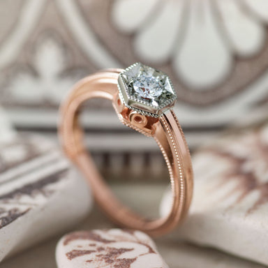 Beatrice Diamond Engagement Ring - Era Design Vancouver