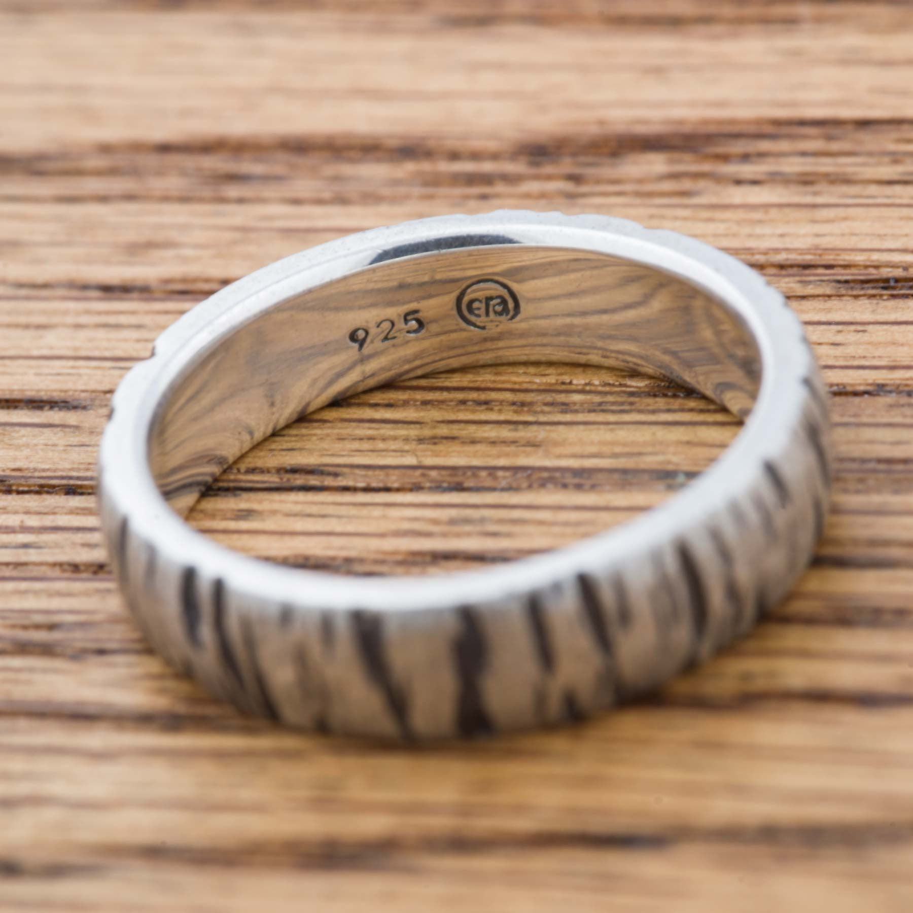 Sterling Silver Wedding Ring | Era Design Vancouver Canada