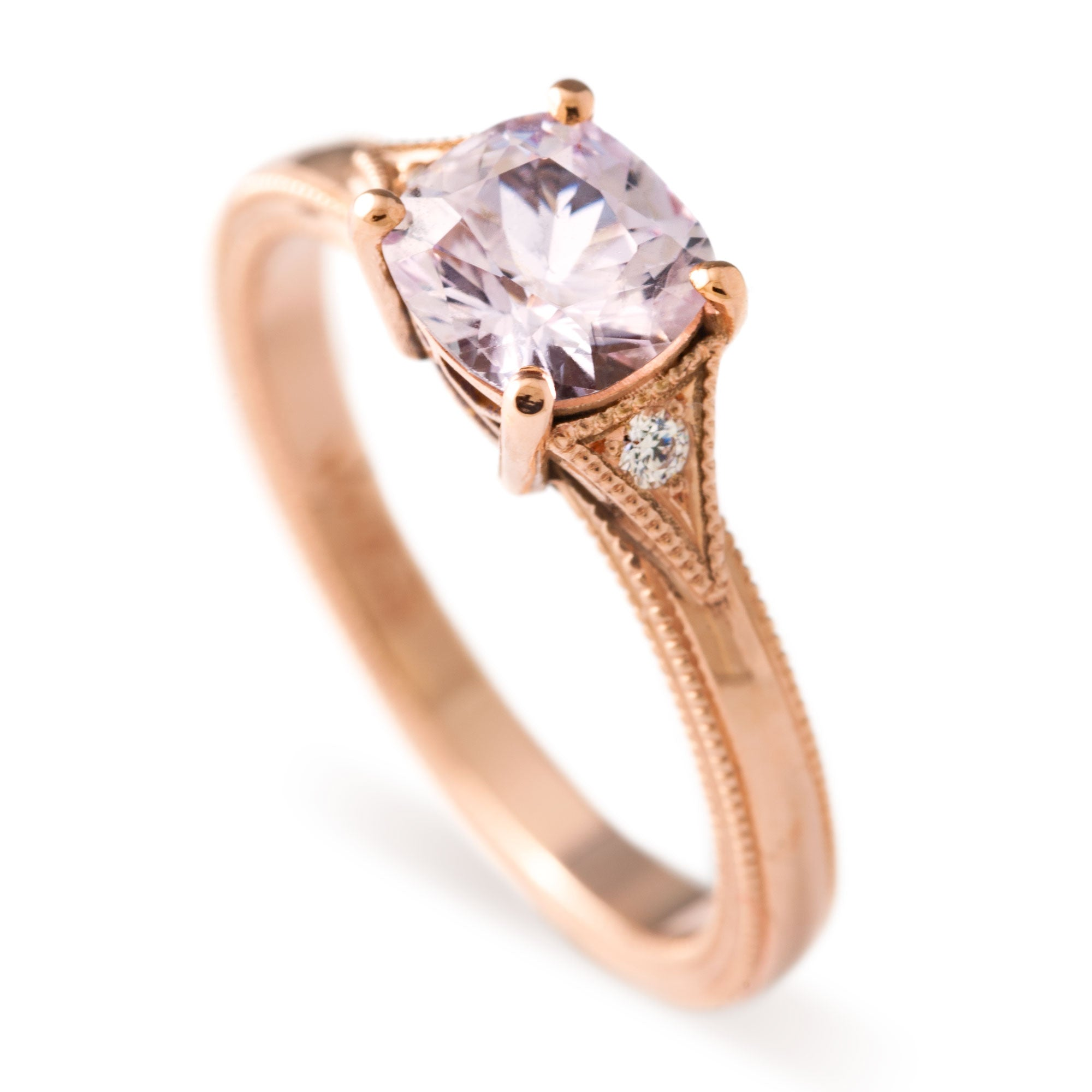 Cleo Sapphire Engagement Ring - Era Design Vancouver