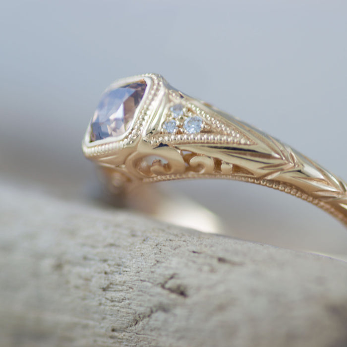 Ruthea Diamond Engagement Ring - Era Design Vancouver