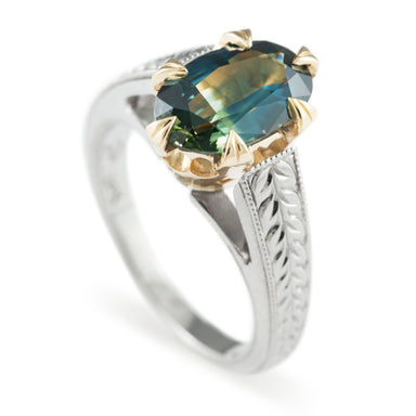 Cordelia Gemstone Engagement Ring - Era Design Vancouver