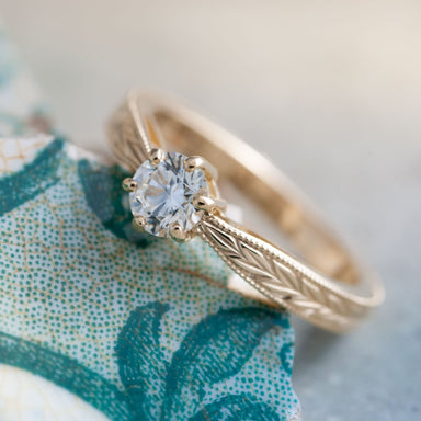 Danae Diamond Engagement Ring - Era Design Vancouver