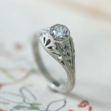 Darla Diamond Engagement Ring - Era Design Vancouver