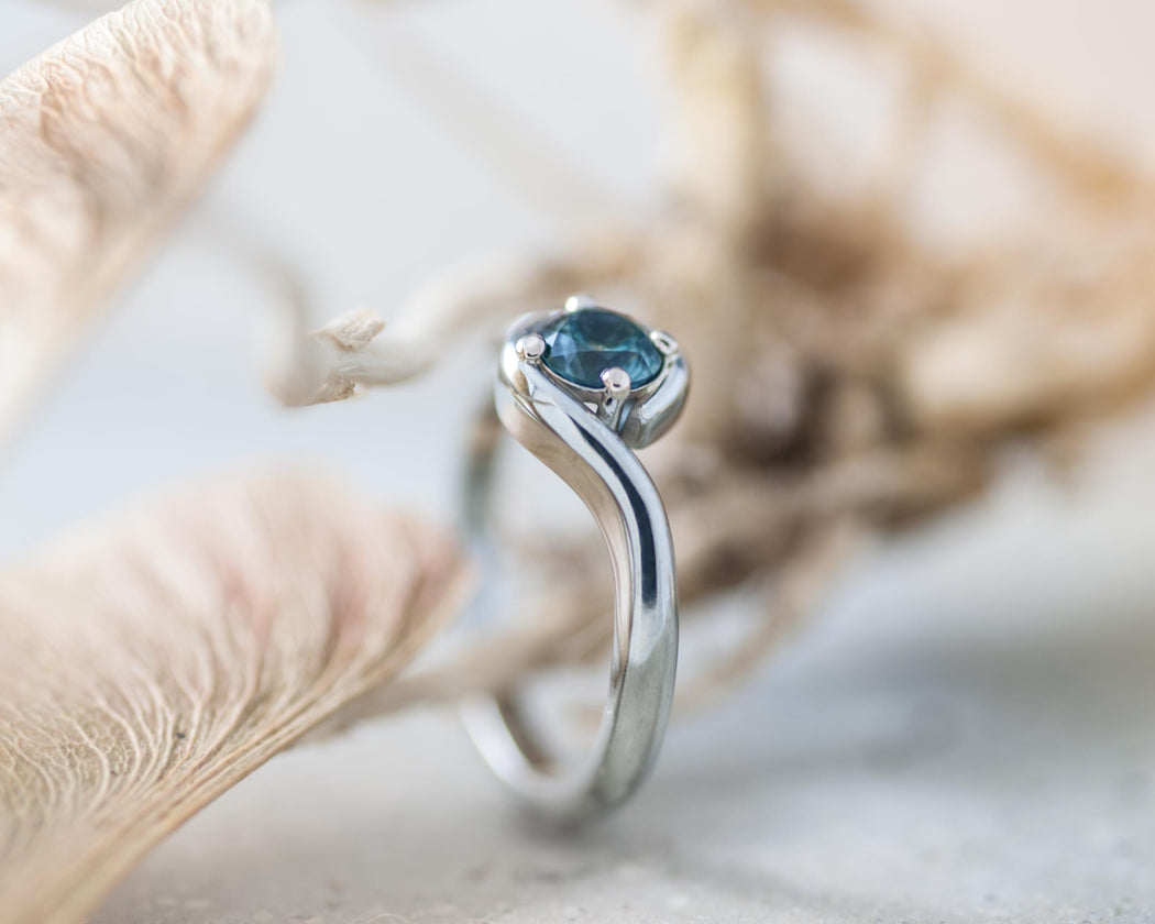 Bypass Sapphire Engagement Ring - Era Design Vancouver
