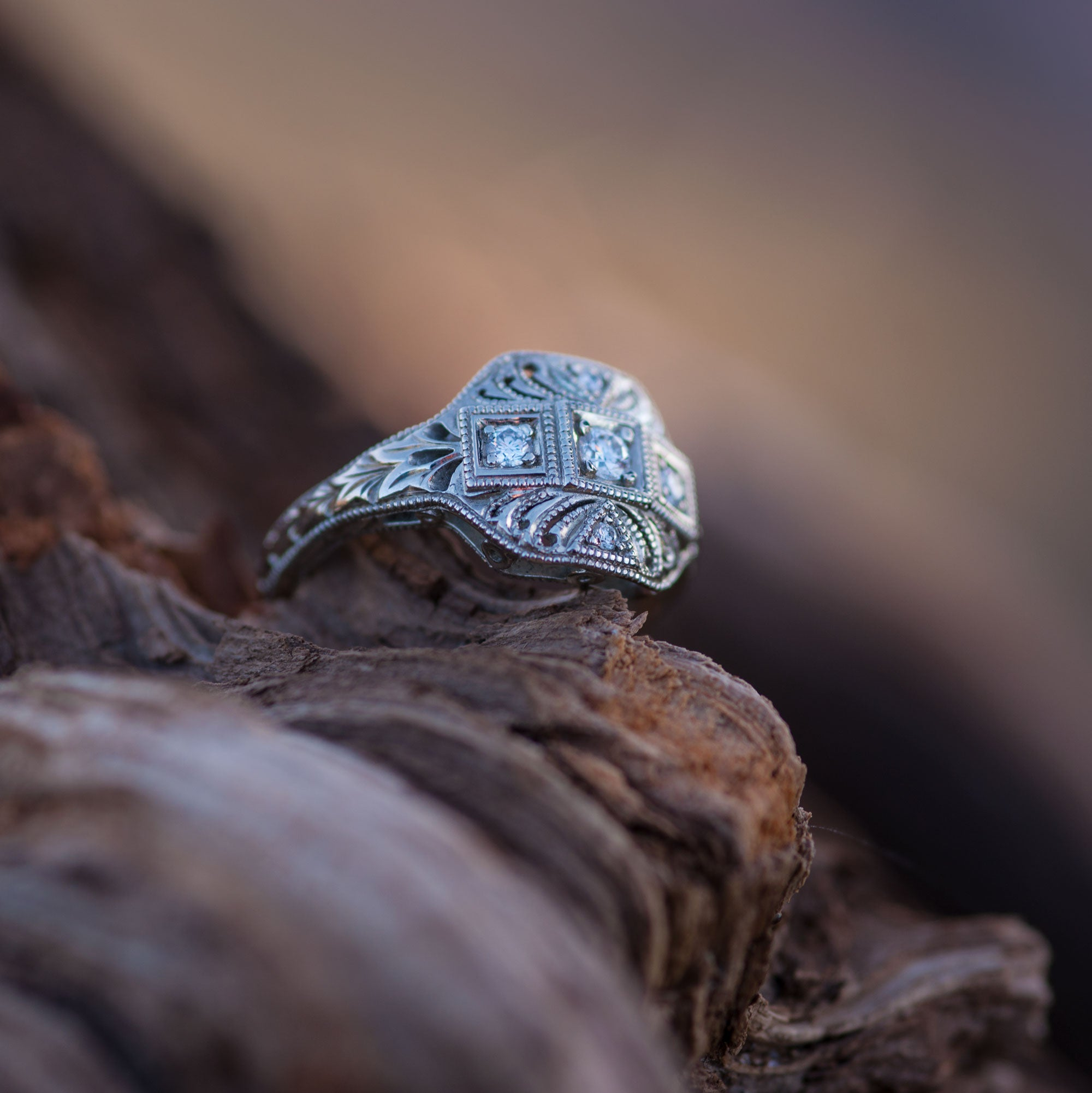 Giselle Diamond Engagement Ring - Era Design Vancouver