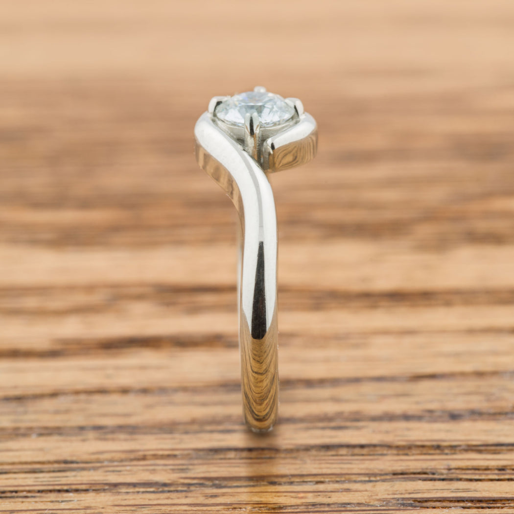 Bypass Diamond Engagement Ring - Era Design Vancouver