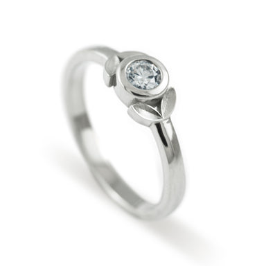 Encircle Canadian Diamond Engagement Ring | Era Design Vancouver Canada
