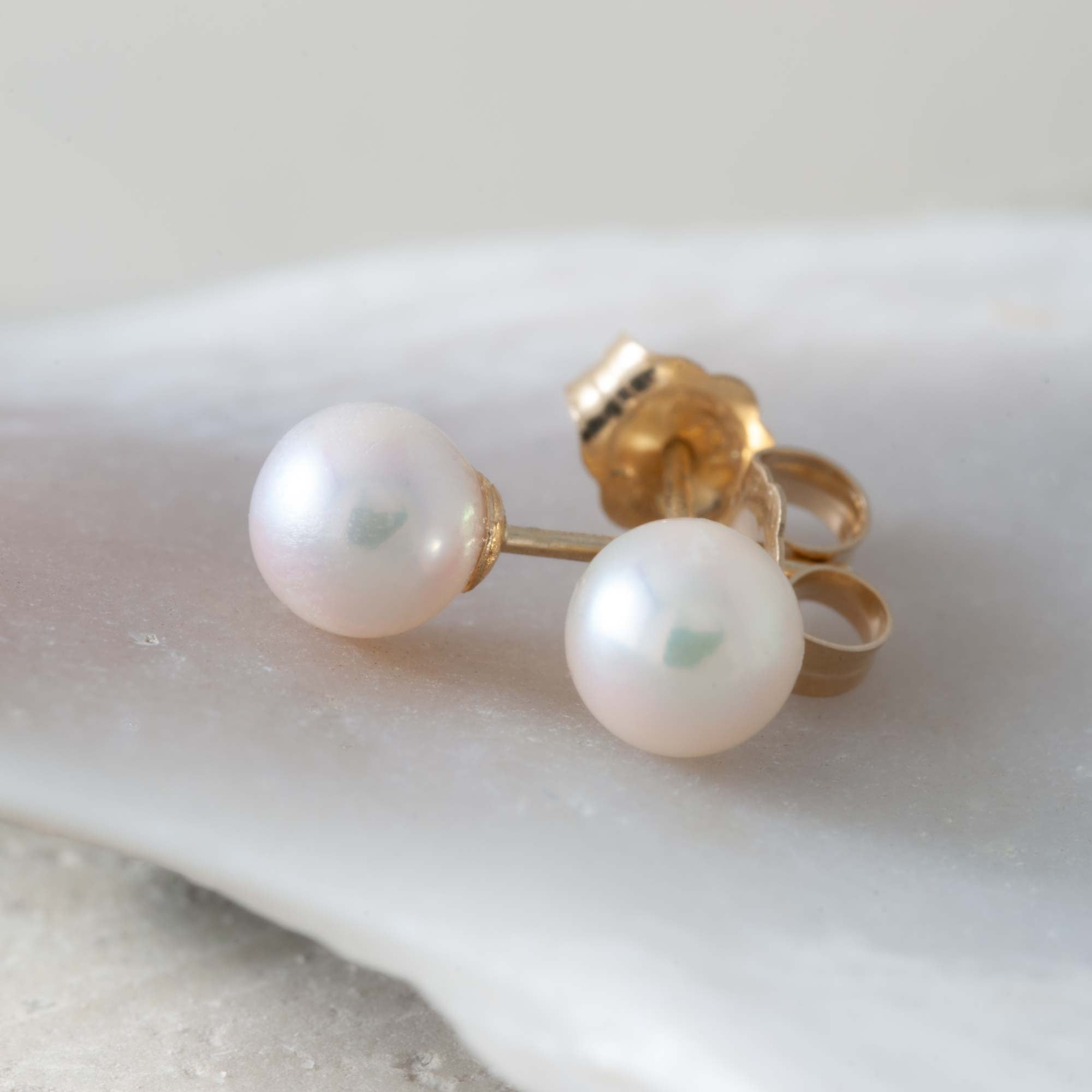 Akoya Pearl Earrings | Era Design Vancouver Canada