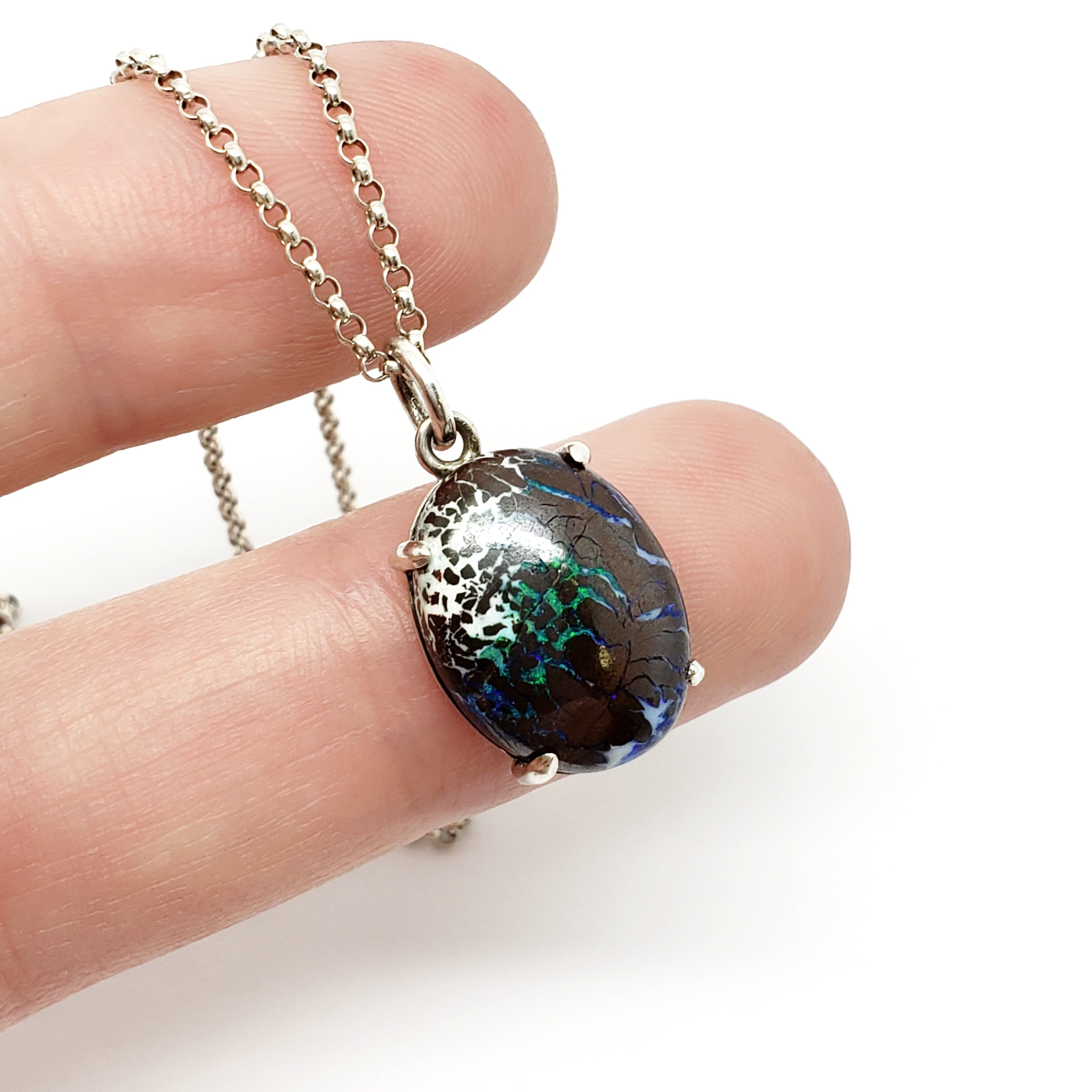 Boulder Opal Necklace | Era Design Vancouver Canada