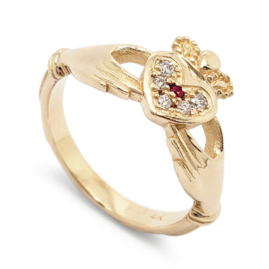 Claddagh Diamond Ring | Era Design Vancouver Canada
