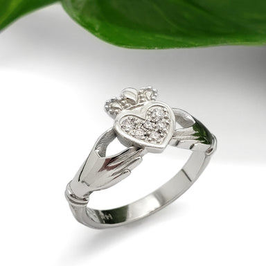 Claddagh Engagement Ring | Era Design Vancouver Canada