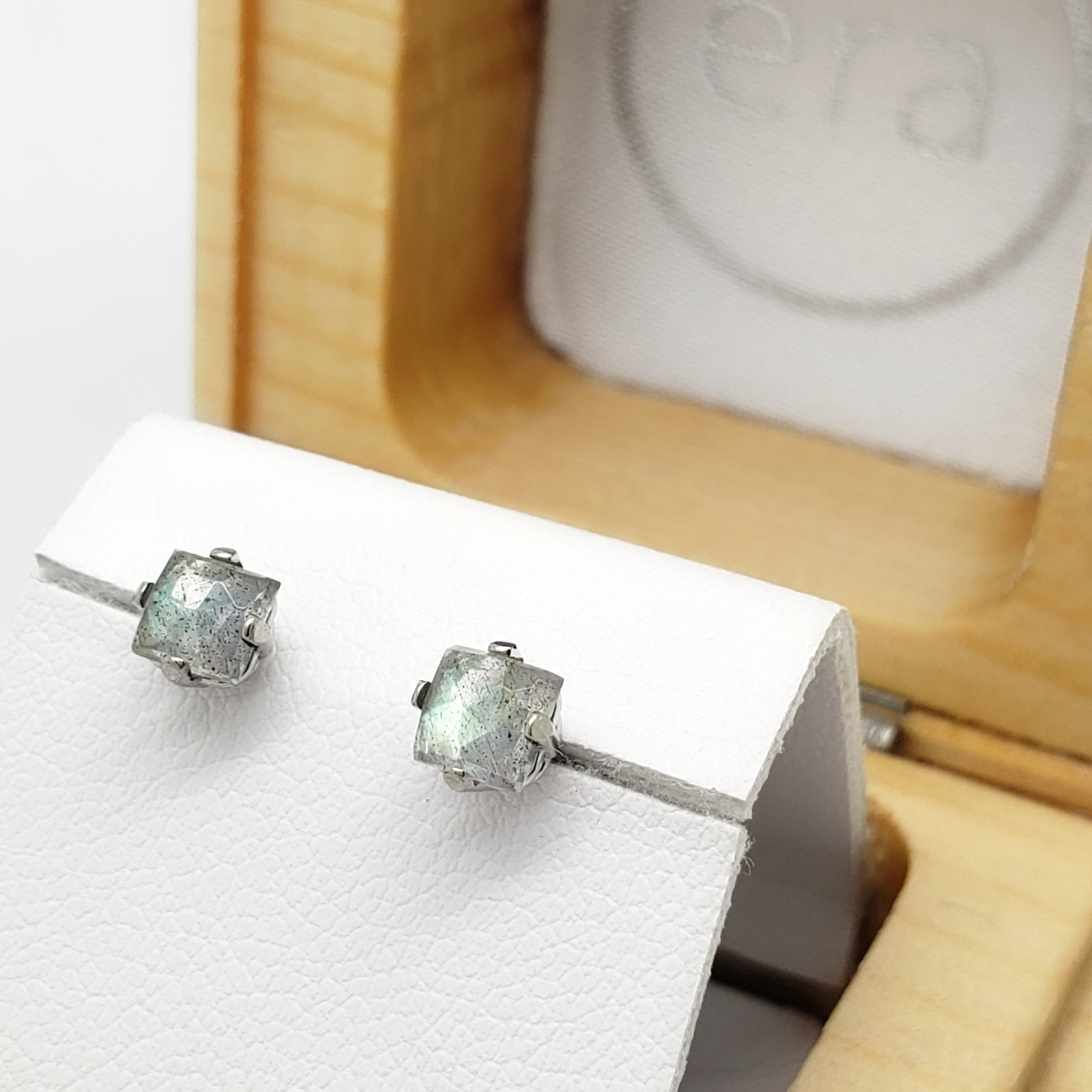 Labradorite Earrings | Era Design Vancouver Canada