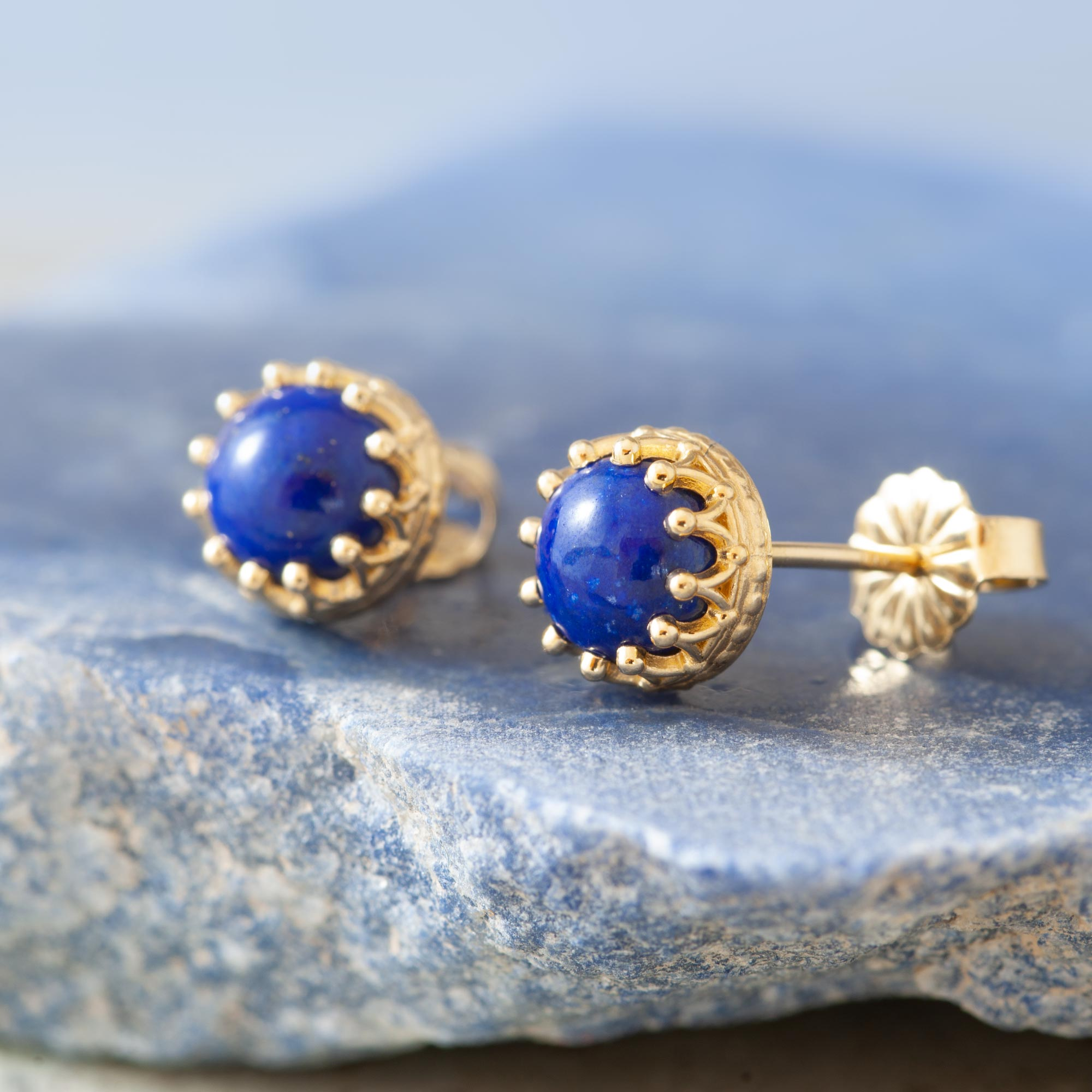 Lapis Earrings | Era Design Vancouver Canada