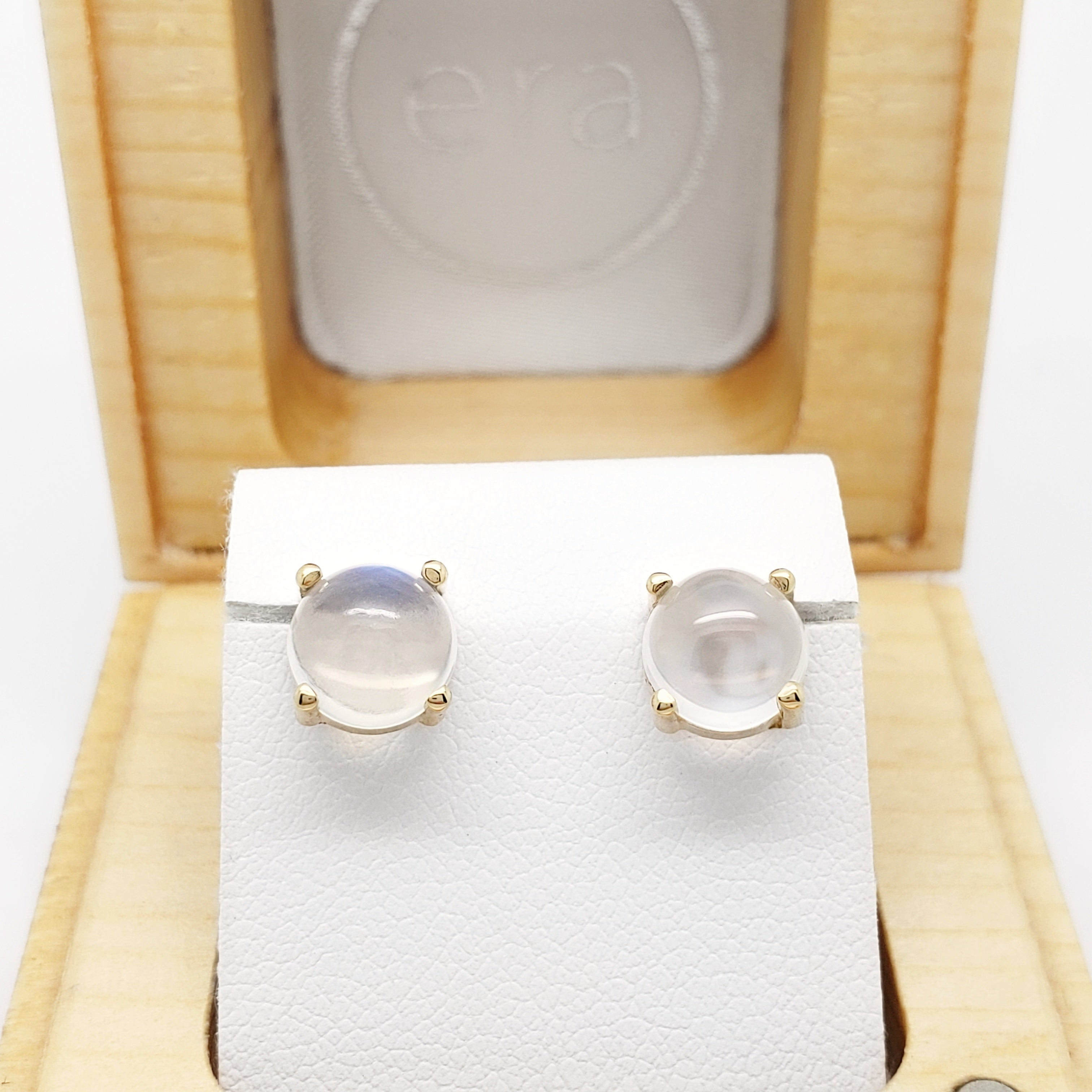 Moonstone Earrings | Era Design Vancouver Canada