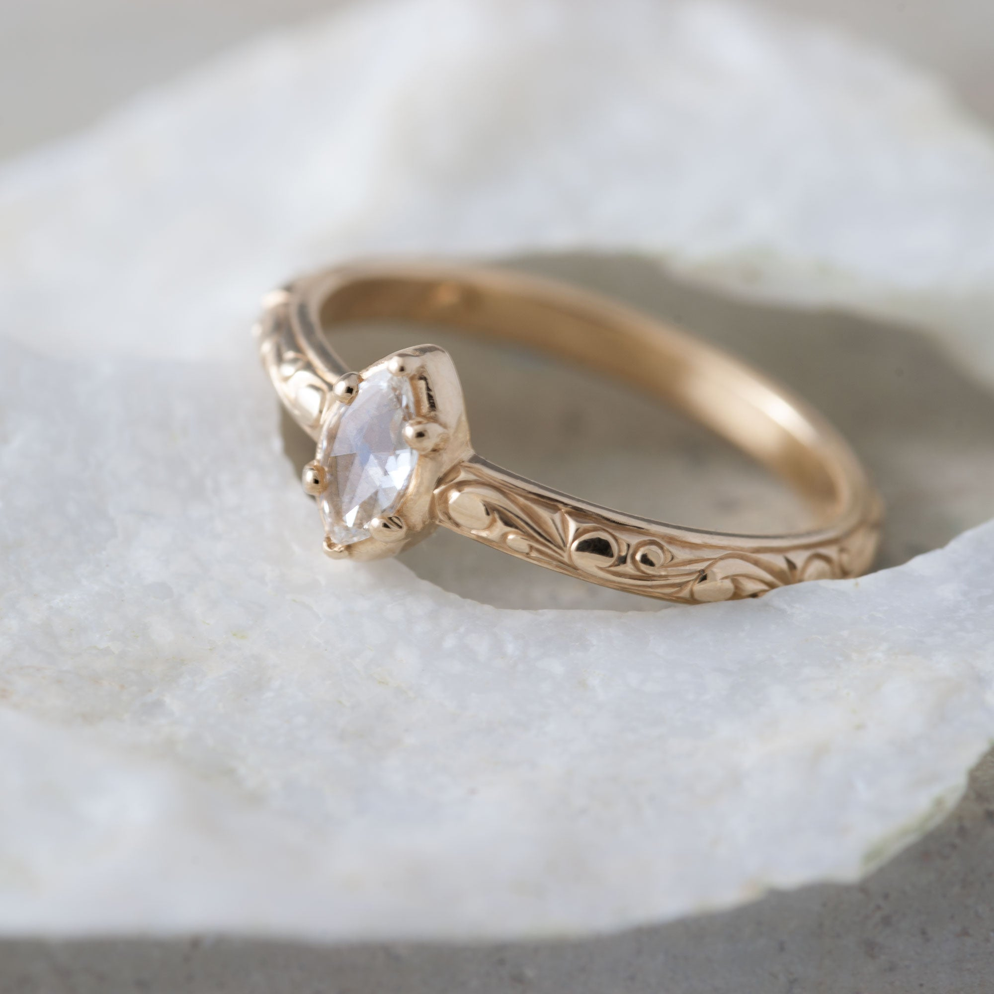 Diamond Engagement Ring | Era Design Vancouver Canada