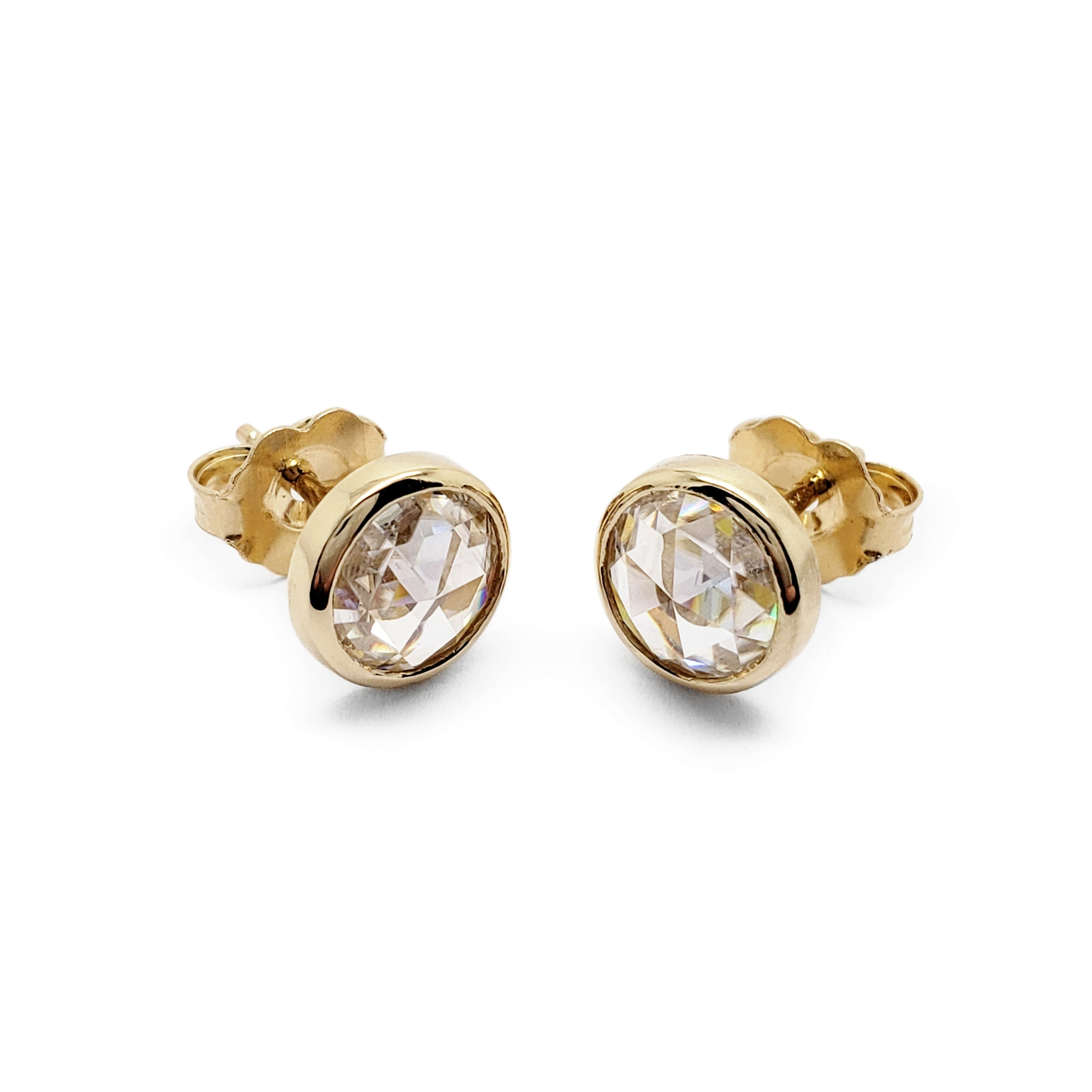 Moissanite Earrings | Era Design Vancouver Canada
