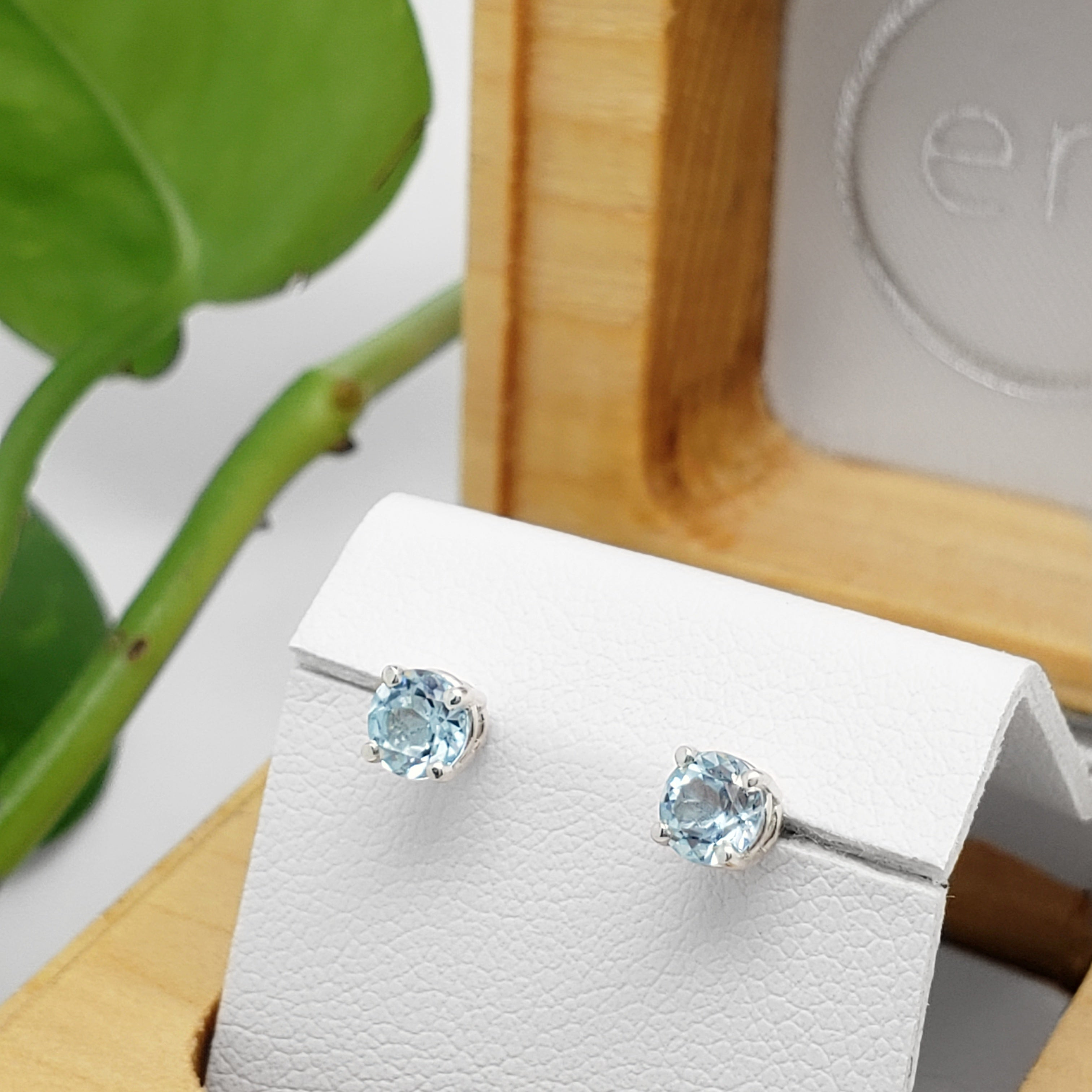 Topaz Earrings | Era Design Vancouver Canada