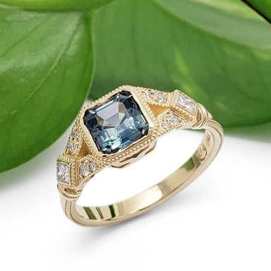 Art Deco Style Engagement Ring | Era Design Vancouver Canada