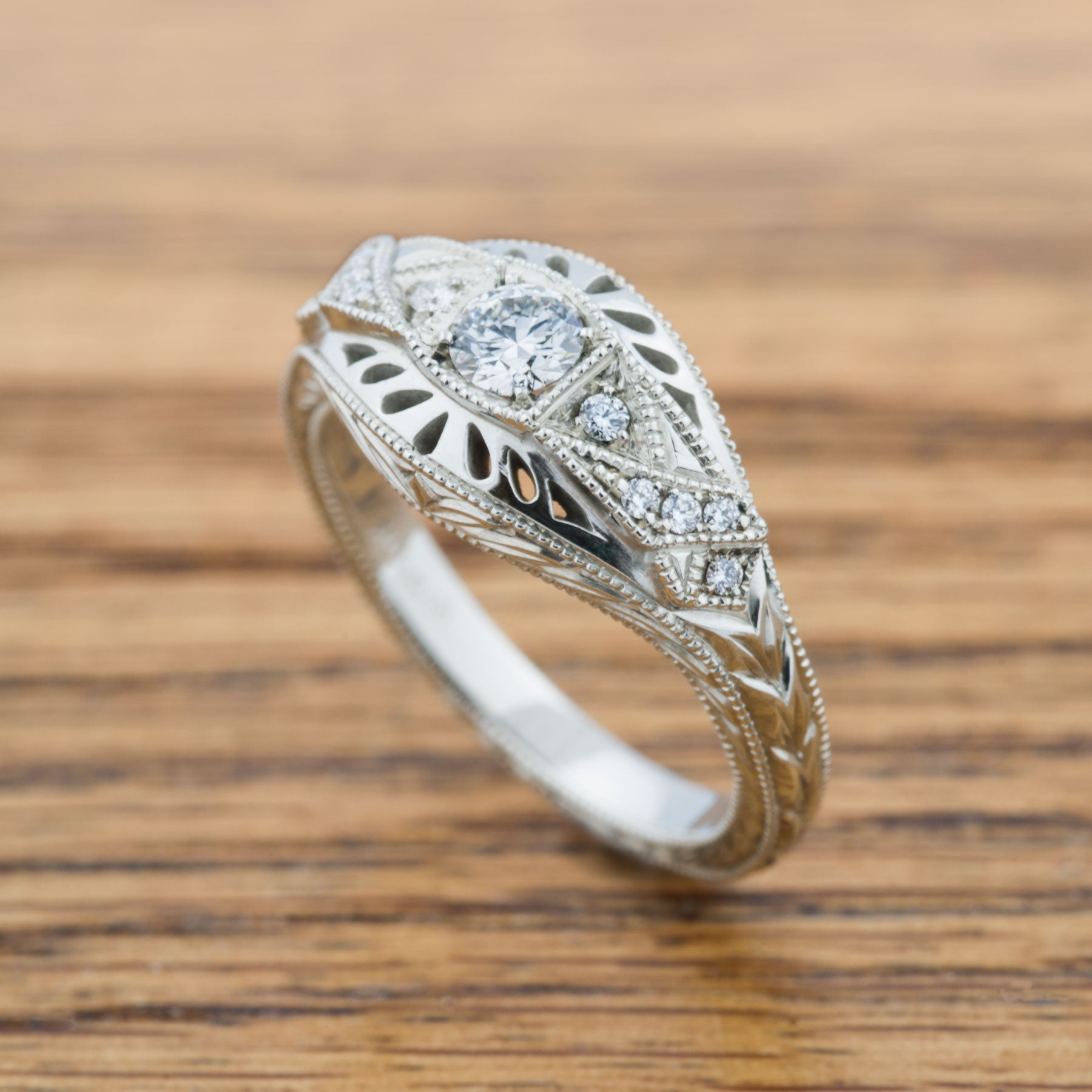 Eira Diamond Engagement Ring - Era Design Vancouver