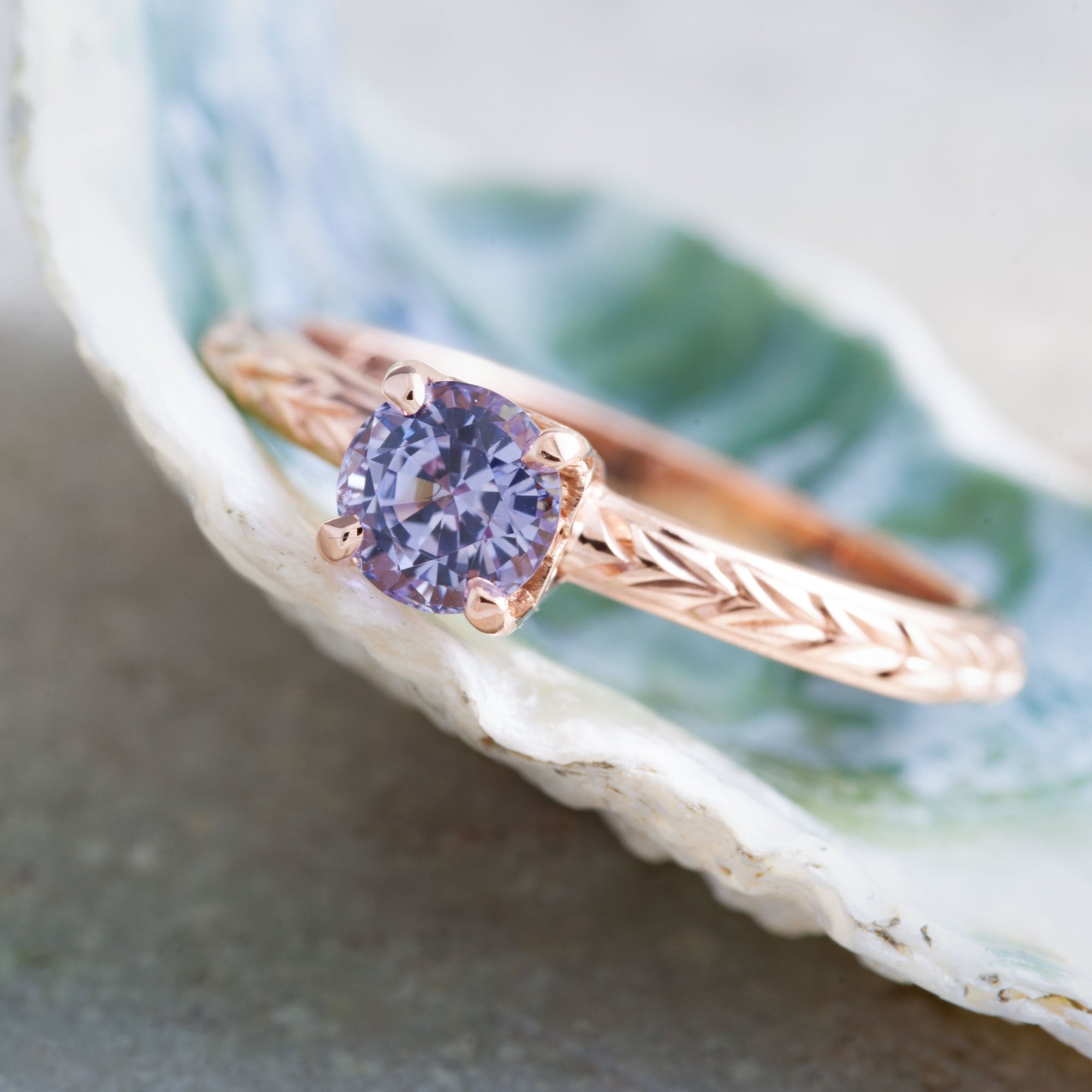 Rose Gold Engagement Ring | Era Design Vancouver Canada