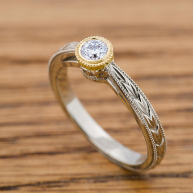 Little Darling Diamond Engagement Ring - Era Design Vancouver