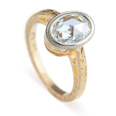 Luna Diamond Engagement Ring - Era Design Vancouver