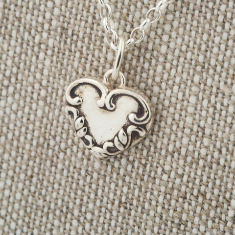 Medallion Heart Pendant