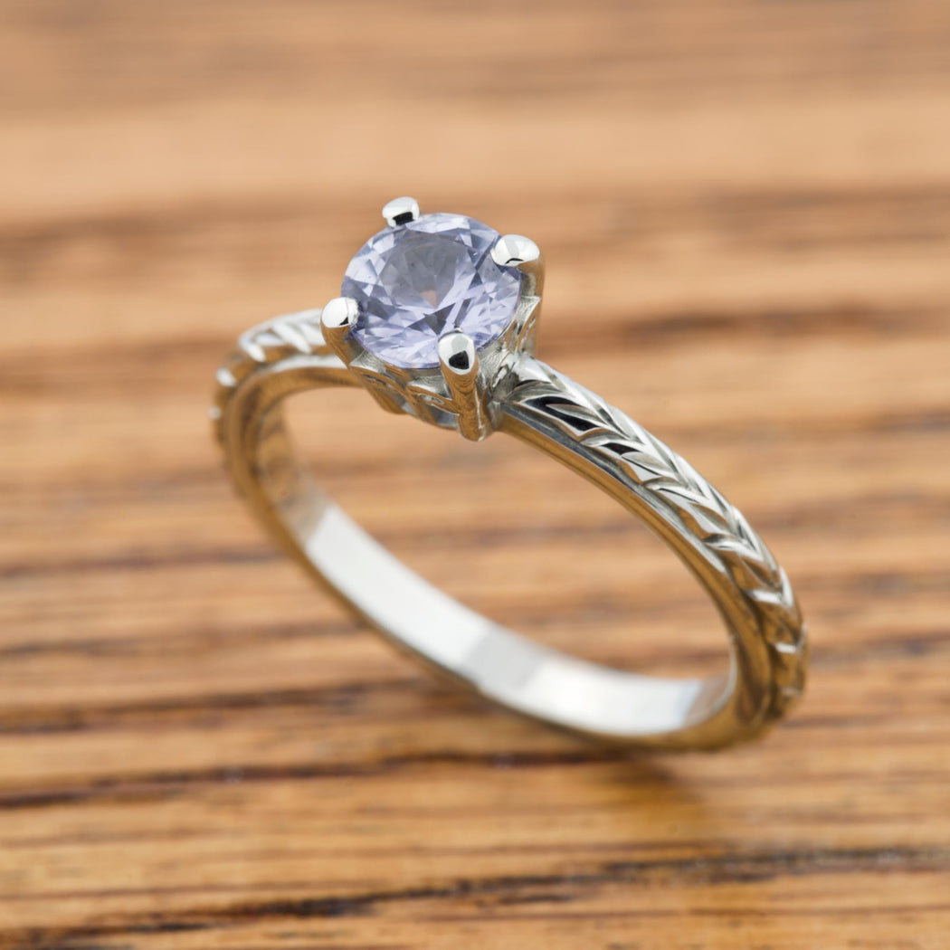 Lavendre Diamond Engagement Ring - Era Design Vancouver
