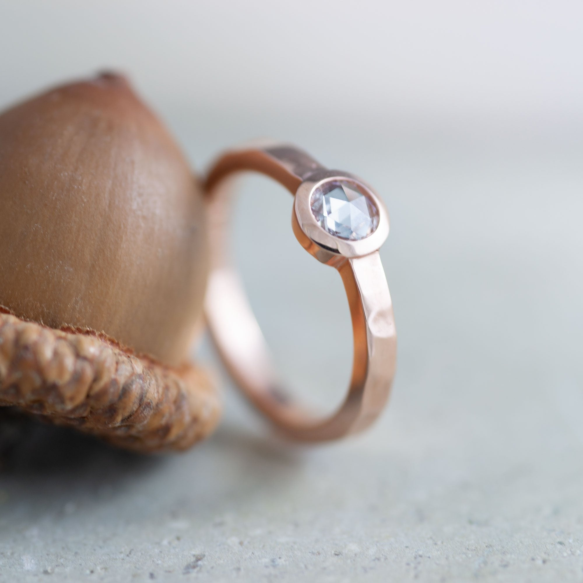Naiad Rose Diamond Engagement Ring | Era Design Vancouver Canada
