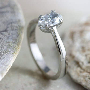 Simone Diamond Engagement Ring - Era Design Vancouver