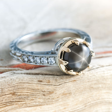 Nora Gemstone Engagement Ring - Era Design Vancouver