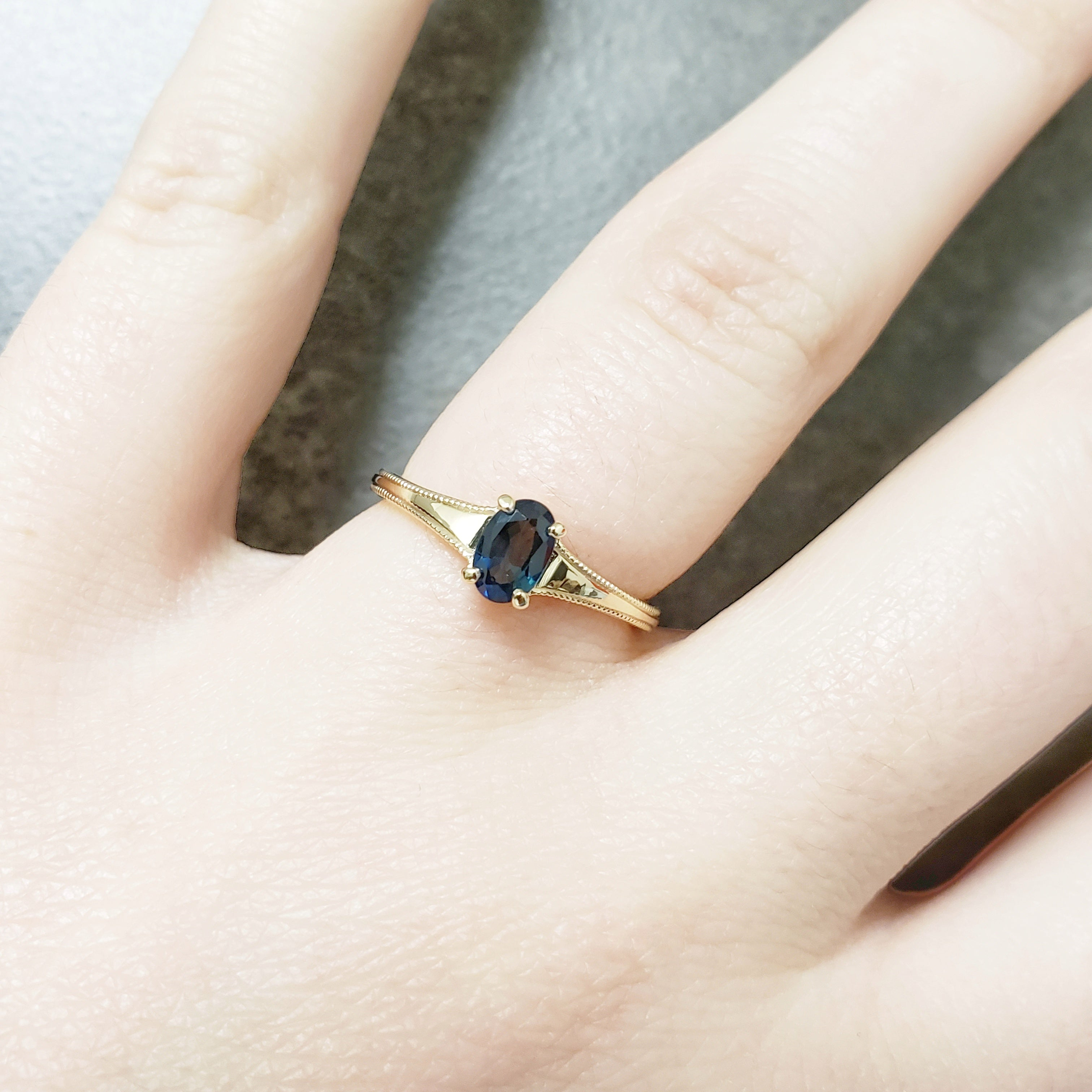 Brooke Gemstone Engagement Ring - Era Design Vancouver