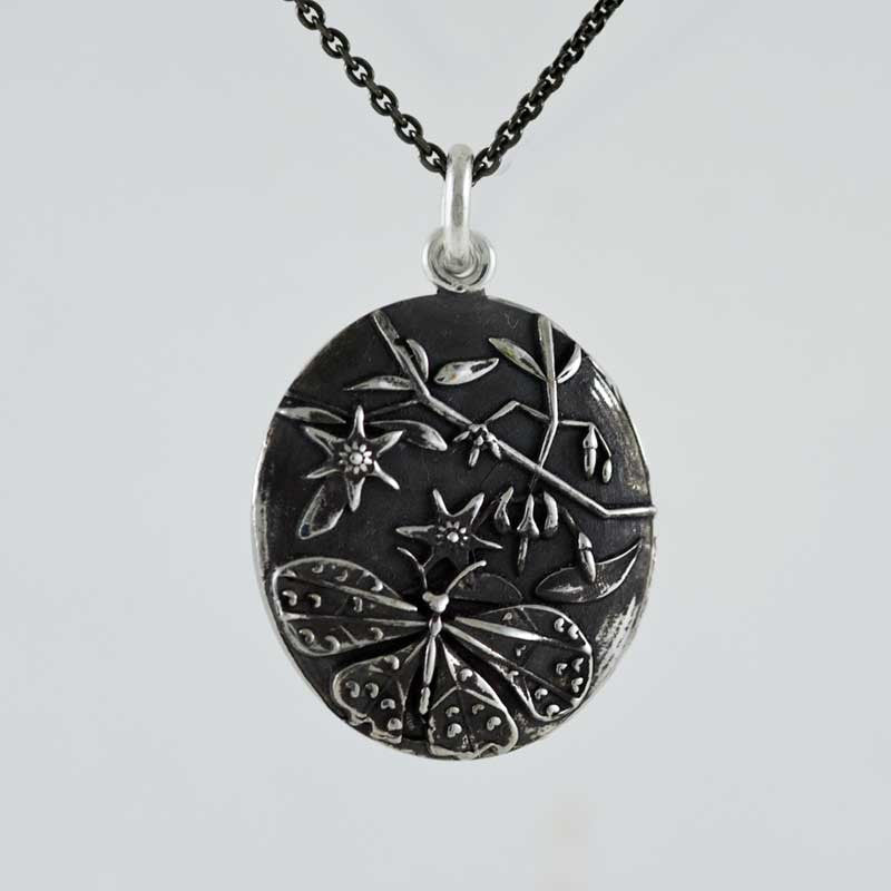 Nightshade Sterling Silver Pendant Sterling Silver Pendant - Era Design Vancouver