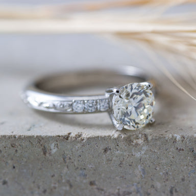 Big Willow Diamond Engagement Ring - Era Design Vancouver