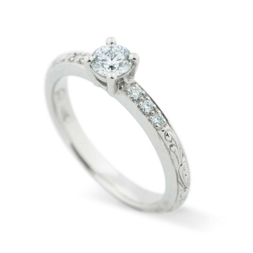 Willow Canadian Diamond Diamond Engagement Ring - Era Design Vancouver